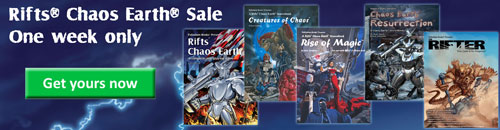 Sale Items at Palladium Books
