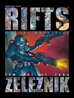 Rifts and the Megaverse Art Book, Collector's Masterwork Limited Edition