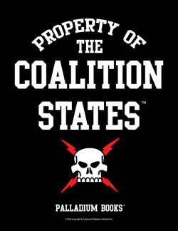 Property of Coalition Black T-Shirt