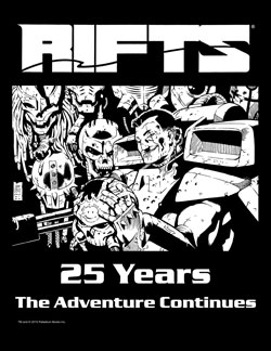 Rifts 25 Years T-Shirt