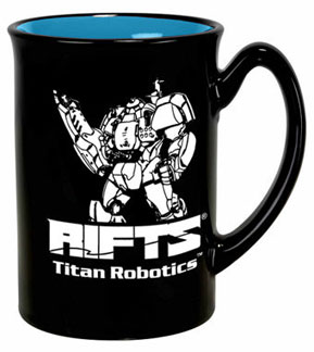 Rifts Titan Robotics Mug