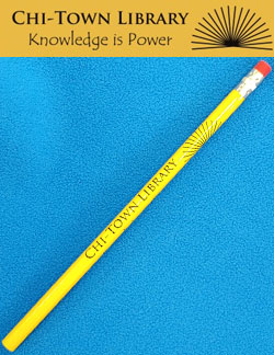 Rifts Chi-Town Library Knowledge is Power Pencil