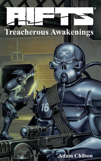 Rifts Novel 3 Treacherous Awakenings