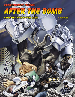 After the Bomb RPG Hardcover
