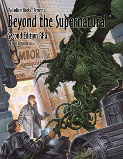 Beyond the Supernatural RPG 2nd Edition Hardcover