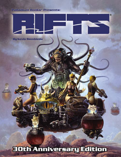 Original Rifts RPG 30th Anniversary Commemorative Hardcover