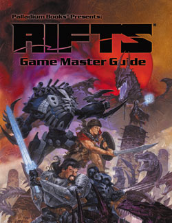 Rifts Game Master Guide Hardcover