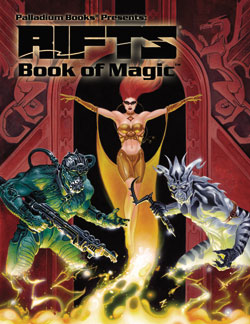 Rifts Book of Magic Hardcover