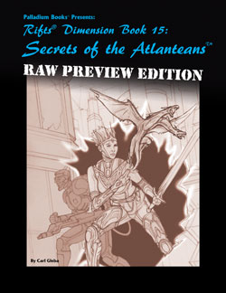 Rifts Secrets of the Atlanteans Raw Preview
