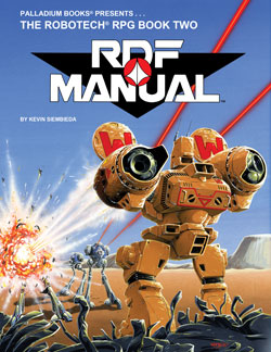 Robotech RDF Manual