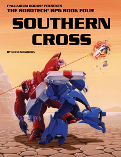 Robotech Southern Cross Sourcebook
