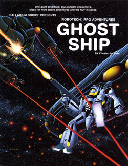Robotech Ghost Ship Sourcebook