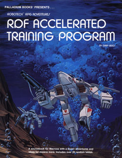 Robotech RDF Accelerated Training Program Sourcebook