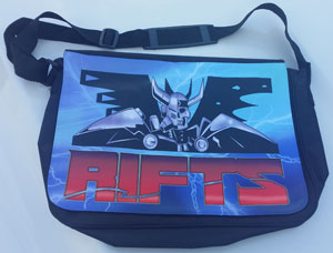 Rifts Classic Logo Reporter's Bag