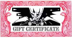 Palladium Gift Certificates