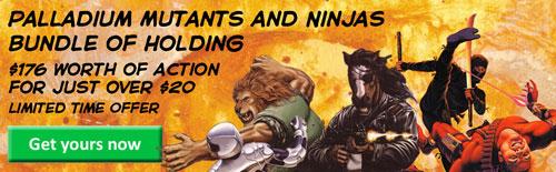 Mutants and Ninjas Bundle of Holding