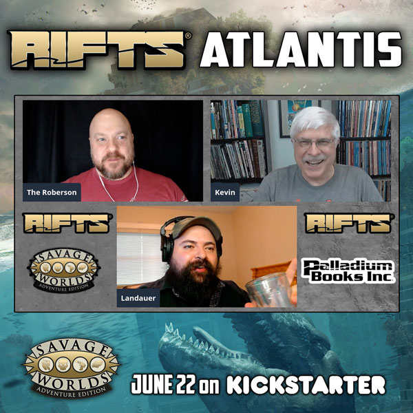 Savage Worlds Rifts Atlantis Interview with Kevin